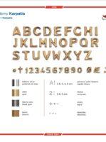 Katalog písma