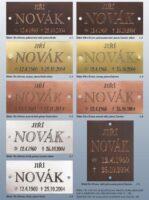 Katalog štítky